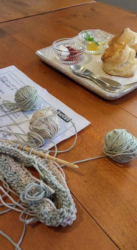 ままてらすの活動ハンドメイドままてらす編み物