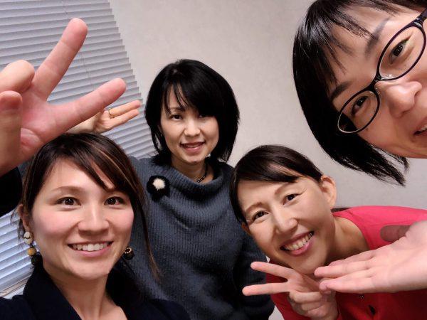 女性起業家応援フェスタin九州運営4人の写真
